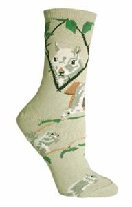 Gray Squirrel Socks