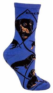 Dachshund Socks Indigo