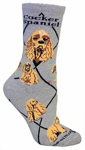 English Cocker Spaniel Socks