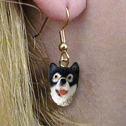 Alaskan Malamute Authentic Earrings