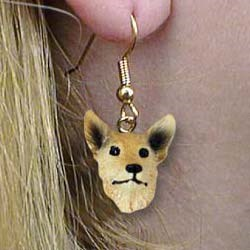 Australian Cattle Dog Authentic Earrings