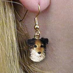 Australian Shepherd Authentic Earrings