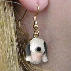 Bedlington Terrier Authentic Earrings