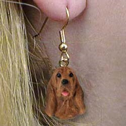 Bloodhound Authentic Earrings