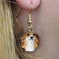 Borzoi Authentic Earrings