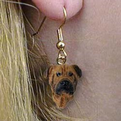 Bullmastiff Authentic Earrings