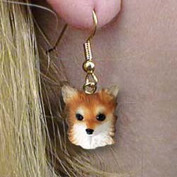 Chihuahua Authentic Earrings