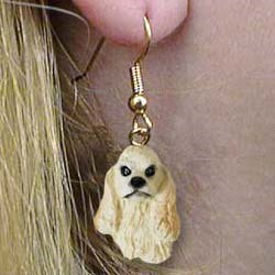 Cocker Spaniel Authentic Earrings