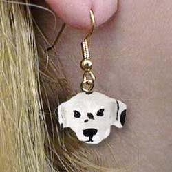 Dalmatian Authentic Earrings