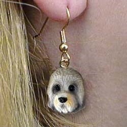 Dandie Dinmont Authentic Earrings