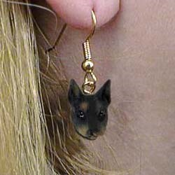 Doberman Pinscher Authentic Earrings