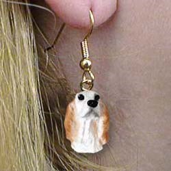 English Setter Authentic Earrings