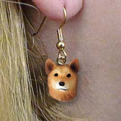 Finnish Spitz Authentic Earrings