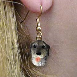 Irish Wolfhound Authentic Earrings