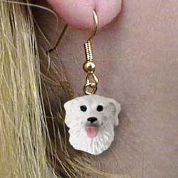 Kuvasz Authentic Earrings