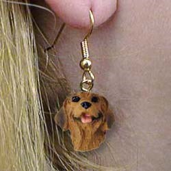 Rhodesian Ridgeback Authentic Earrings
