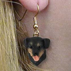 Rottweiler Authentic Earrings