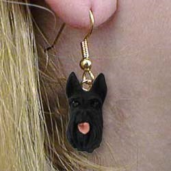 Scottish Terrier Authentic Earrings