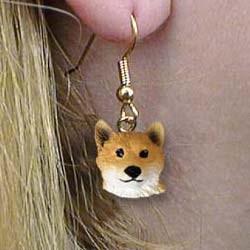 Shiba Inu Authentic Earrings