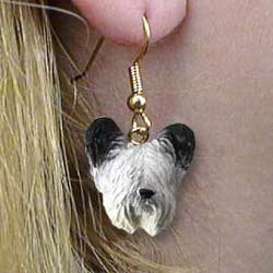 Skye Terrier Authentic Earrings