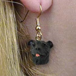 Staffordshire Bull Terrier Authentic Earrings