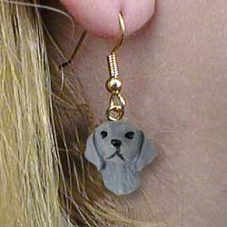 Weimaraner Authentic Earrings