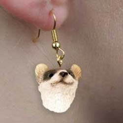 Ferret Authentic Earrings