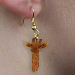 Giraffe Authentic Earrings
