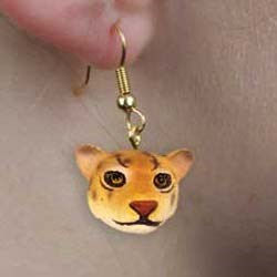 Jaguar Authentic Earrings