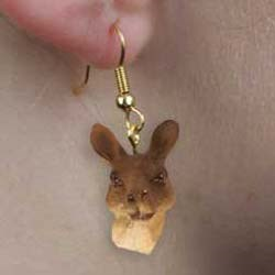 Kangaroo Authentic Earrings