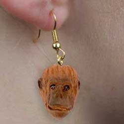 Orangutan Authentic Earrings