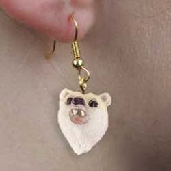 Polar Bear Authentic Earrings