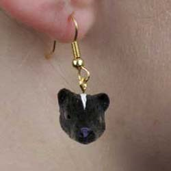 Skunk Authentic Earrings