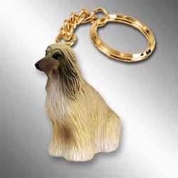 Afghan Hound Keychain