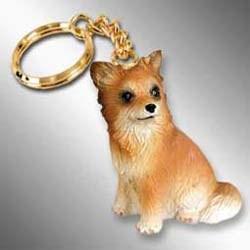 Longhair Chihuahua Keychain