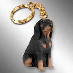 Coonhound Keychain