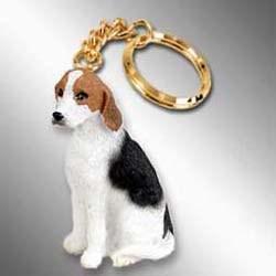 Foxhound Keychain
