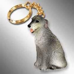 Irish Wolfhound Keychain