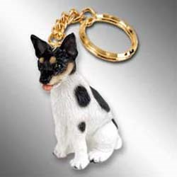 Rat Terrier Keychain
