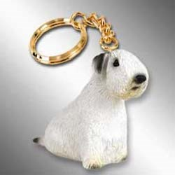 Sealyham Terrier Keychain