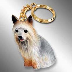 Silky Terrier Keychain