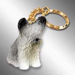 Skye Terrier Keychain