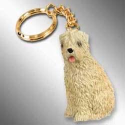 Wheaten Terrier Keychain