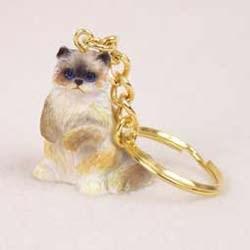 Ragdoll Cat Keychain