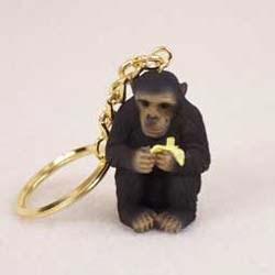 Chimpanzee Keychain