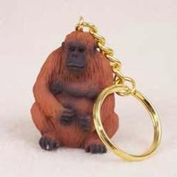 Orangutan Keychain