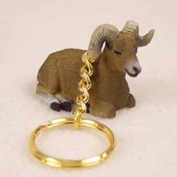 Big Horn Sheep Keychain