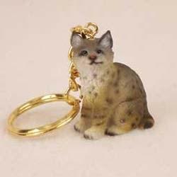 Bobcat Keychain