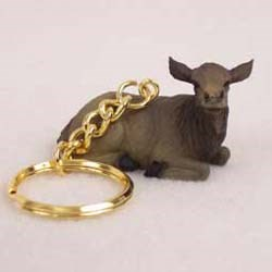Elk Keychain