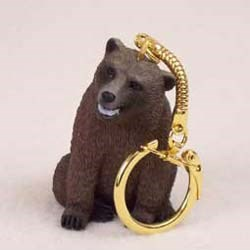Grizzly Bear Keychain